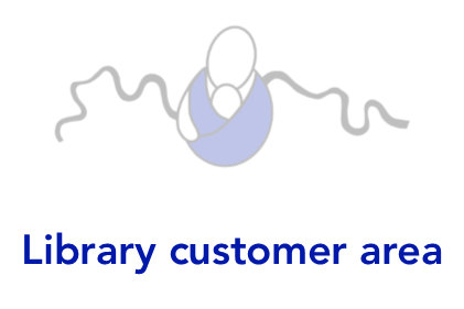 Library customer area