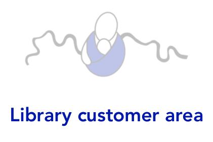 Library customer area